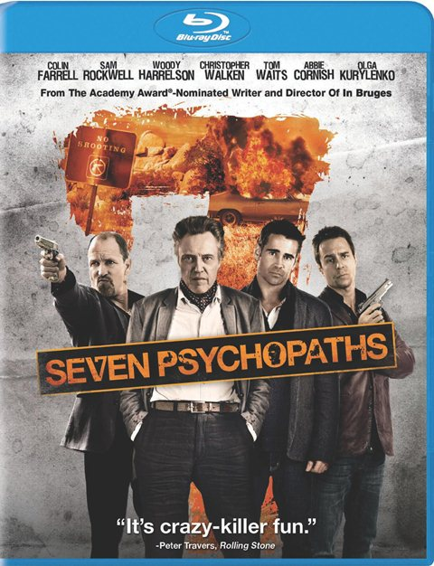 Seven Psychopaths was released on Blu-ray and DVD on January 29, 2013