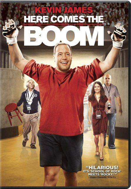 Here Comes the Boom was released on Blu-ray and DVD on February 5, 2013