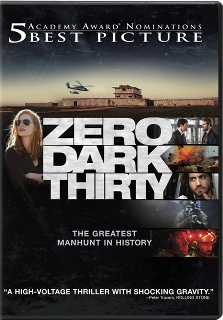 Zero Dark Thirty was released on Blu-ray and DVD on February 19, 2013
