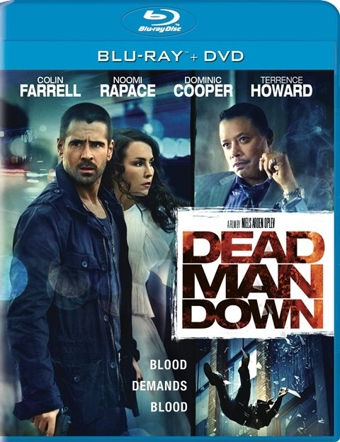 Dead Man Down was released on Blu-ray and DVD on July 9, 2013