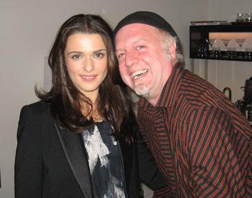 Rachel Weisz and Patrick McDonald, in Chicago on October 16, 2008