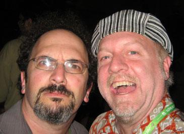 Robert Smigel and Patrick McDonald, in Chicago on June 16, 2008