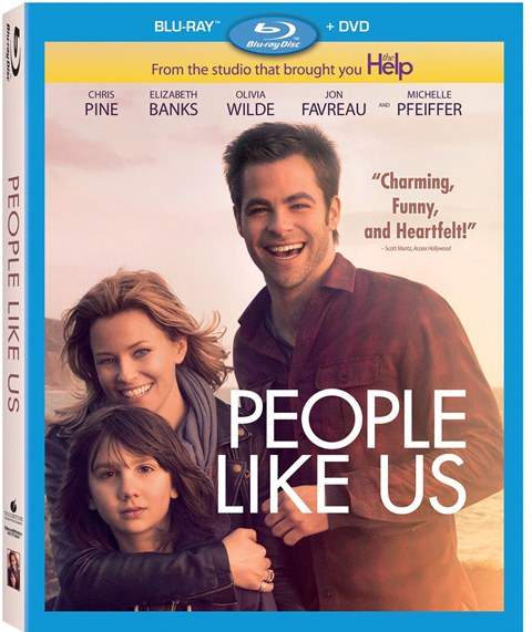 People Like Us was released on Blu-ray and DVD on October 2, 2012