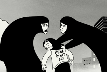 Rebel, Rebel: Scene from 'Persepolis'