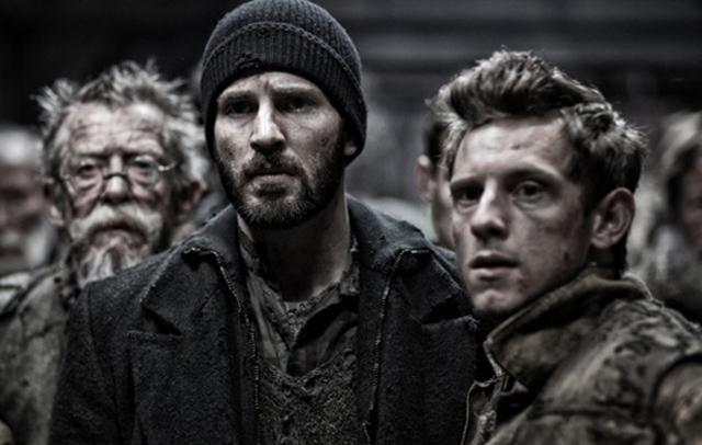 John Hurt, Chris Evans, Jamie Bell
