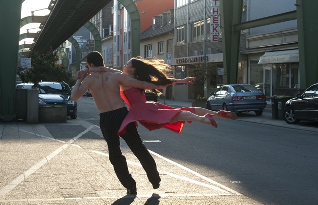 Dancers in a Modern Setting in 'Pina'