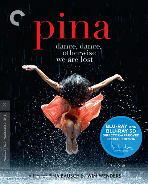 Pina was released on Criterion Blu-ray and DVD on January 22, 2013