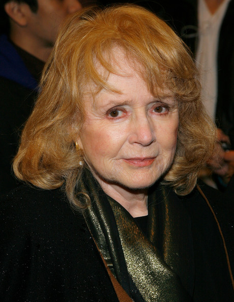 Piper Laurie attends La Bete at New York City's Music Box Theatre in October 2010.