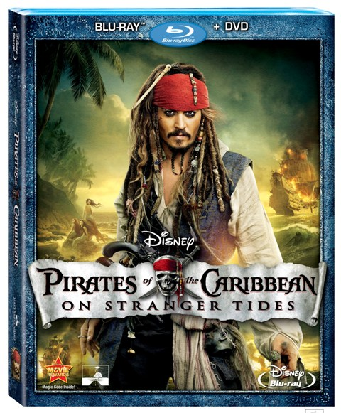 Pirates of the Caribbean: On Stranger Tides was released on Blu-ray and DVD on October 18th, 2011