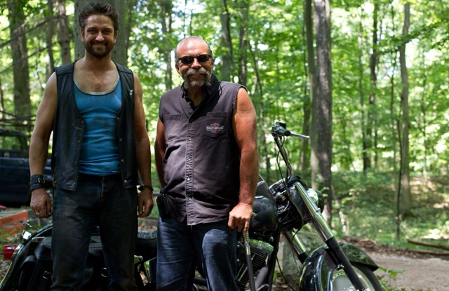 Reel and Real: Gerald Butler and Sam Childers on the Set of 'Machine Gun Preacher'