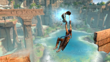 Prince of Persia was released by Ubisoft on December 2, 2008.