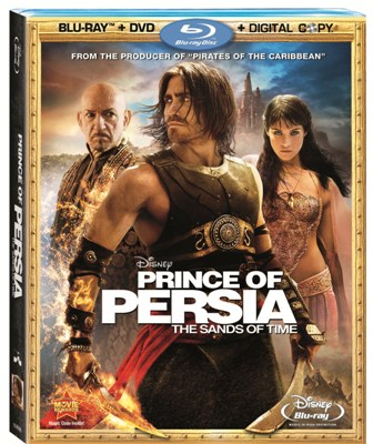 Prince of Persia: The Sands of Time was released on Blu-Ray and DVD on Sept. 14, 2010.