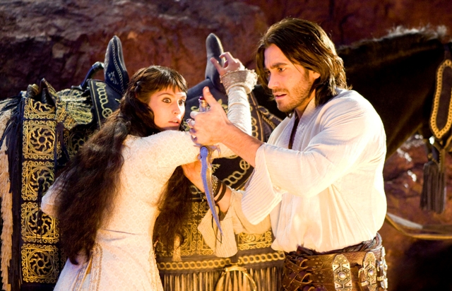 Gemma Arterton and Jake Gyllenhaal star in Mike Newell's Prince of Persia: The Sands of Time.