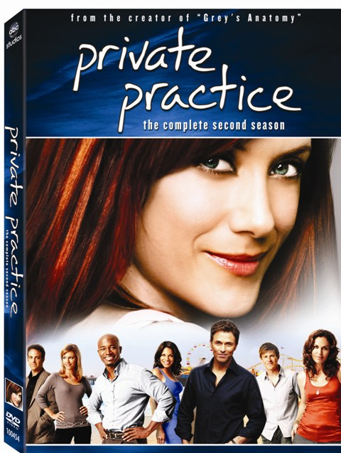 Private Practice was released on DVD on September 15th, 2009.