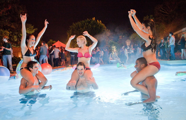 Everyone's in the Pool in 'Project X'