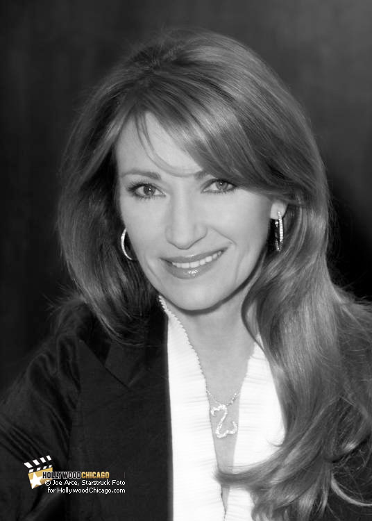 Jane Seymour in Chicago, Promoting her Book, 'Among Angels,' December, 2010