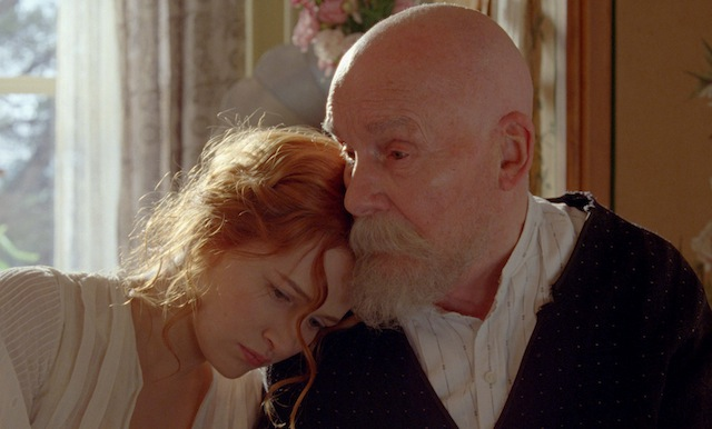 Christa Theret and Michel Bouquet star in Gilles Bourdos's Renoir.
