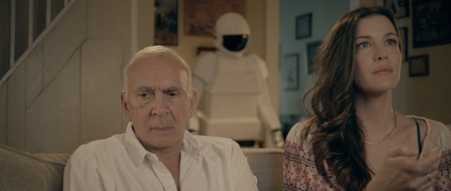 Frank Langella and Liv Tyler star in Jake Schreier's Robot and Frank.