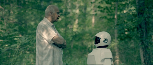 Frank Langella stars in Jake Schreier's Robot and Frank.