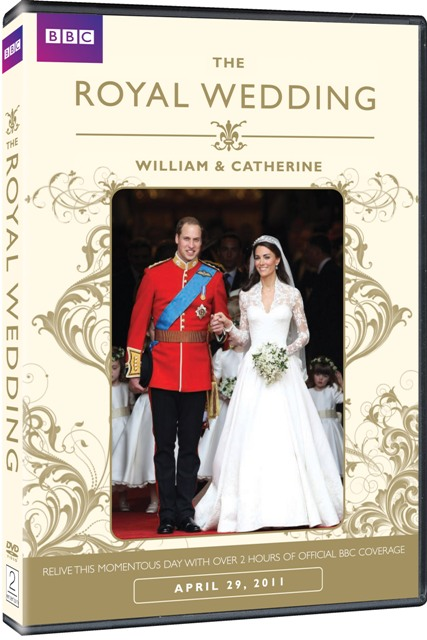 The Royal Wedding: William and Catherine was released on DVD on May 24, 2011