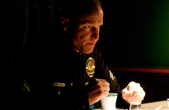 To Serve and Protect: Woody Harrelson (Officer David Brown) in 'Rampart'