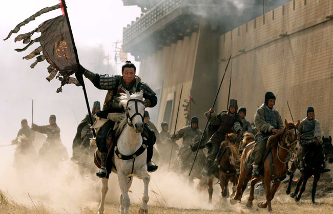 First Century Warriors: A Battle Sequence from John Woo's 'Red Cliff'