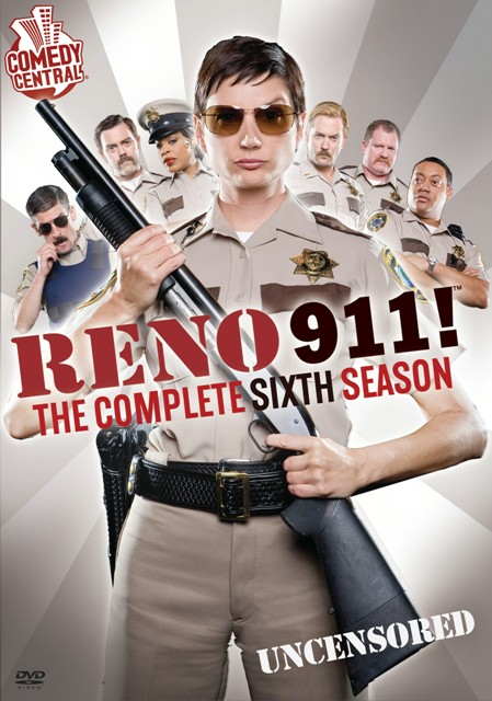 Reno 911!: The Complete Sixth Season was released on DVD on July 7th, 2009.