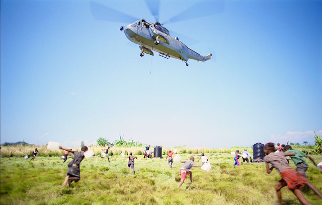 The Mission: Haitians Await the Arrival of Aid in  'Rescue 3D''