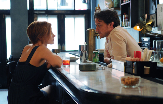 Jessica Chastain, James McAvoy