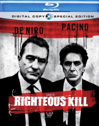 Righteous Kill is released by Anchor Bay Home Video on January 6th, 2009.