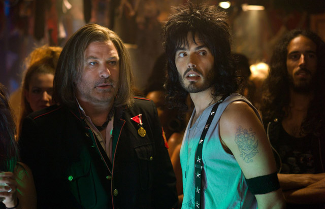 Alec Baldwin and Russell Brand'
