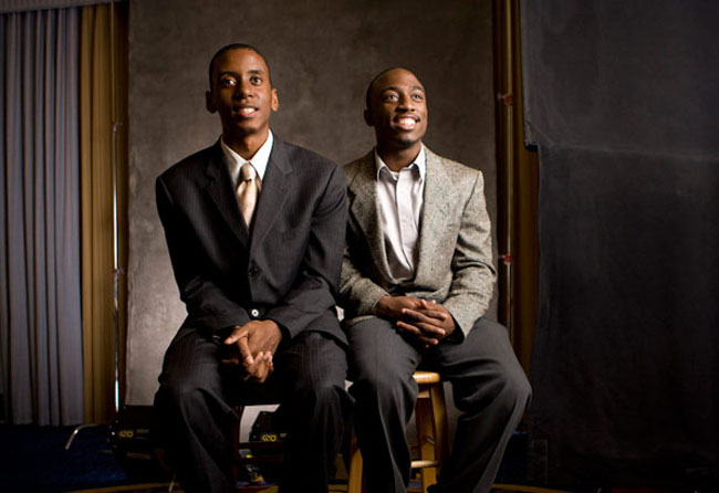 Rodney Walker and Business Partner Gabriel Echoles in 'Ten9Eight'