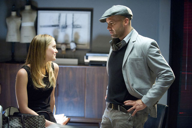 Walk-Off: Leighton Meester as Rebecca and Billy Zane as Professor Roberts in 'The Roommate'