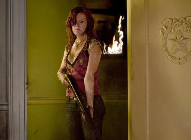 Shooting from the Hip: Rumer Willis as Ellie in 'Sorority Row'