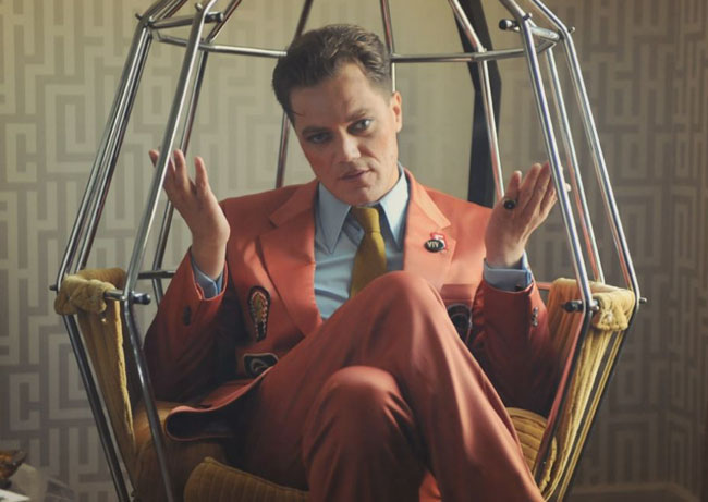 Ham and Cage: Michael Shannon has fun as Kim Fowley in 'The Runaways'