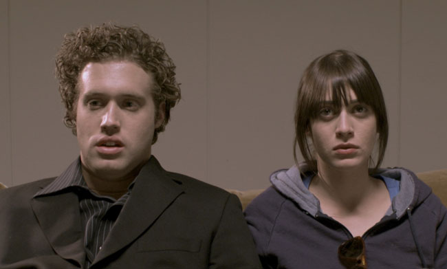 Wasted Days: T.J. Miller as Drake and Lizzy Caplan as Lindsay in 'Successful Alcoholics'
