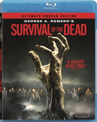 George A. Romero's Survival of the Dead was released on Blu-ray and DVD on August 24th, 2010
