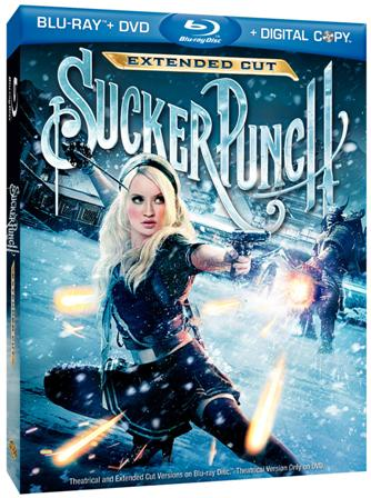 Sucker Punch was released on Blu-ray and DVD on June 28th, 2011