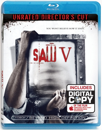 Saw V is released by Lionsgate Home Video on January 20th, 2009.