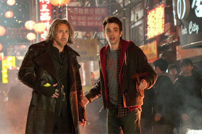 Mentoring: Nicolas Cage and Apprentice Dave (Jay Baruchel) in 'The Sorcerer's Apprentice'