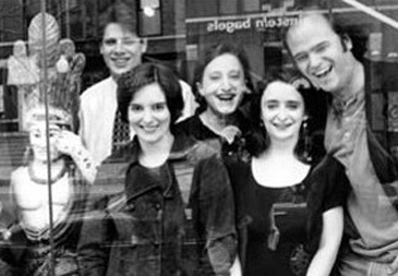 Second City Publicity Picture Featuring Tina Fey (center), Rachel Dratch and Scott Adsit
