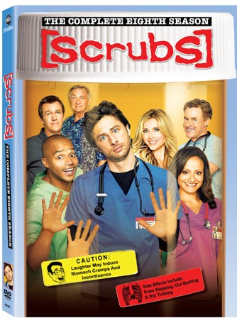 Scrubs will be released on DVD on August 25th, 2009.