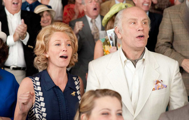 Getting the Gold: Diane Lane as Penny Chenery and John Malkovich as Lucien Laurin in 'Secretariat'