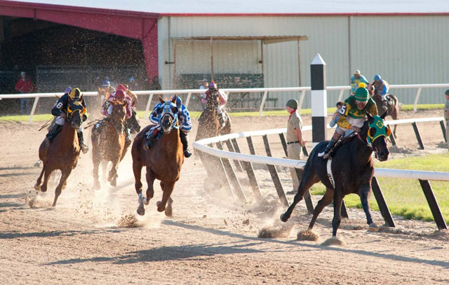 Horse of the Hour: Otto Thorwarth as Jockey Ron Turcotte rides 'Secretariat'