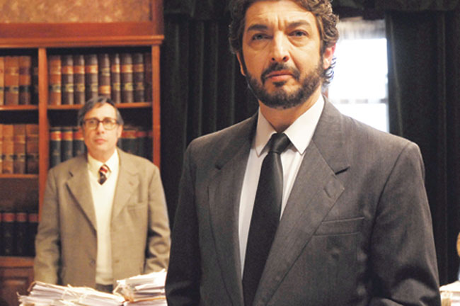The Eyes Have It: Pablo Rago (background) and Ricardo Darín of 'The Secret in Their Eyes'