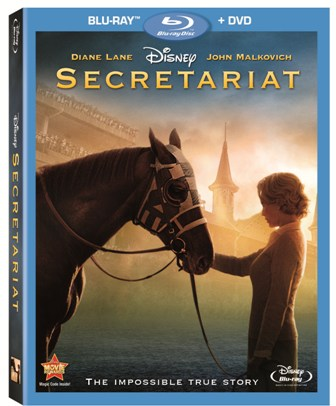 Secretariat was released on Blu-Ray and DVD on Jan. 20, 2011.