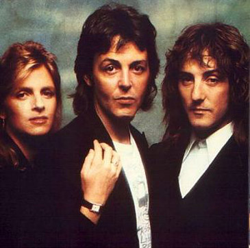 Denny Laine, Paul and Linda McCartney