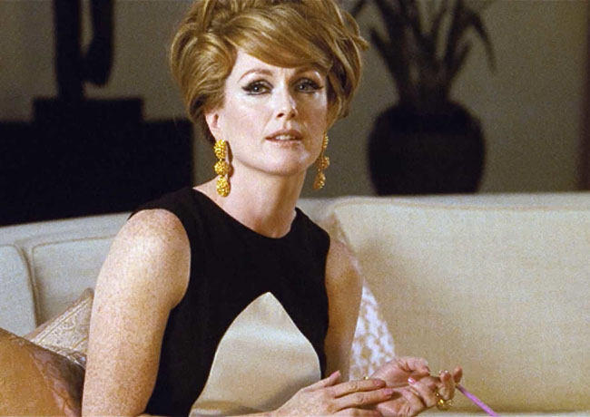 The Party's Over: Julianne Moore as Charley in 'A Single Man'