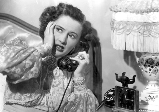 Anatole Litvak's 1948 noir Sorry, Wrong Number screens August 18 at the Music Box.