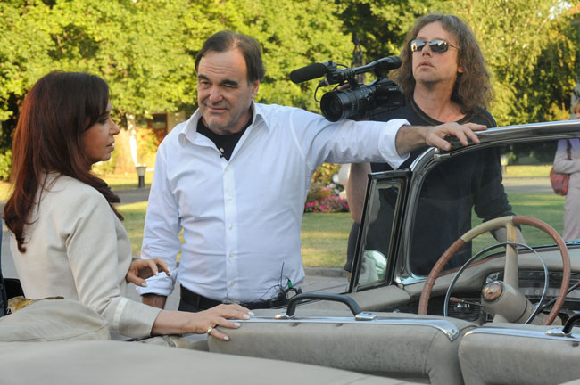 Oliver Stone Sets Up an Angle with Argentinian President Christina Kirchner  in 'South of the Border'